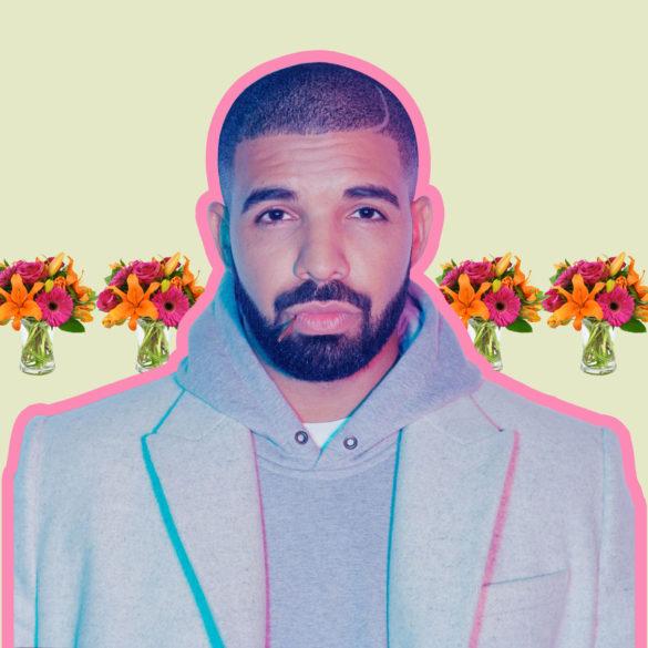 Дрейк раздаривает цветы в Торонто привлекая внимание к новому проекту