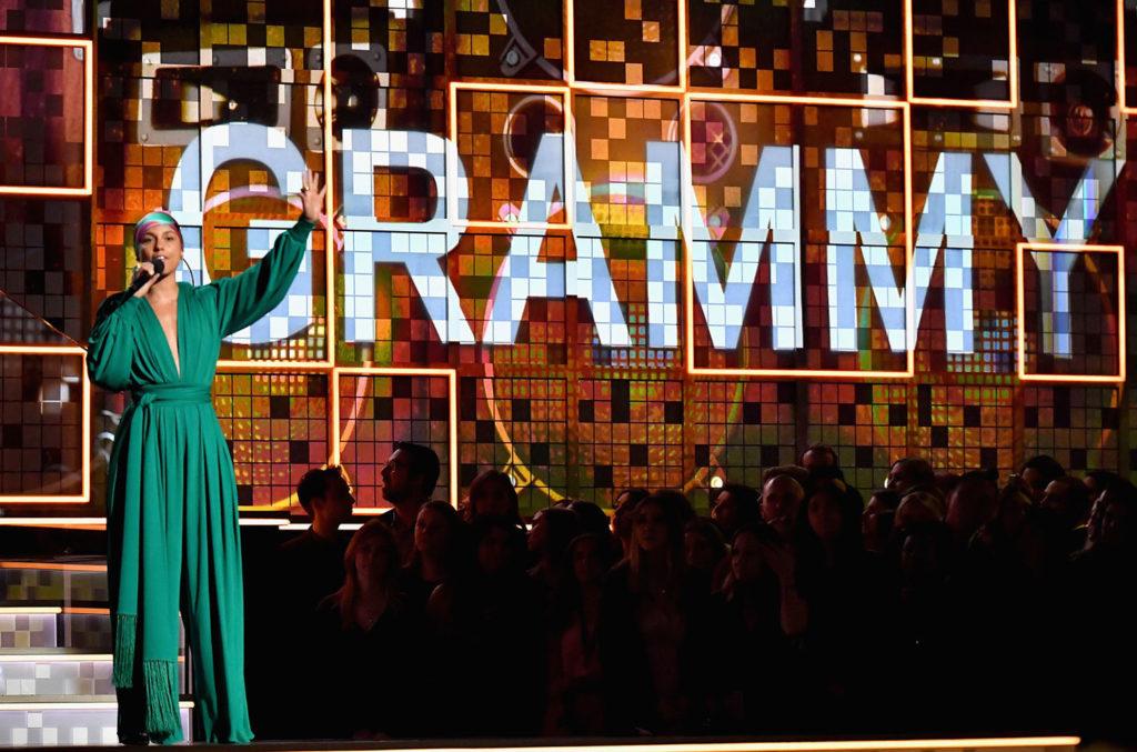 Алиша Кейс на церемонии Грэмми в прошлом году.