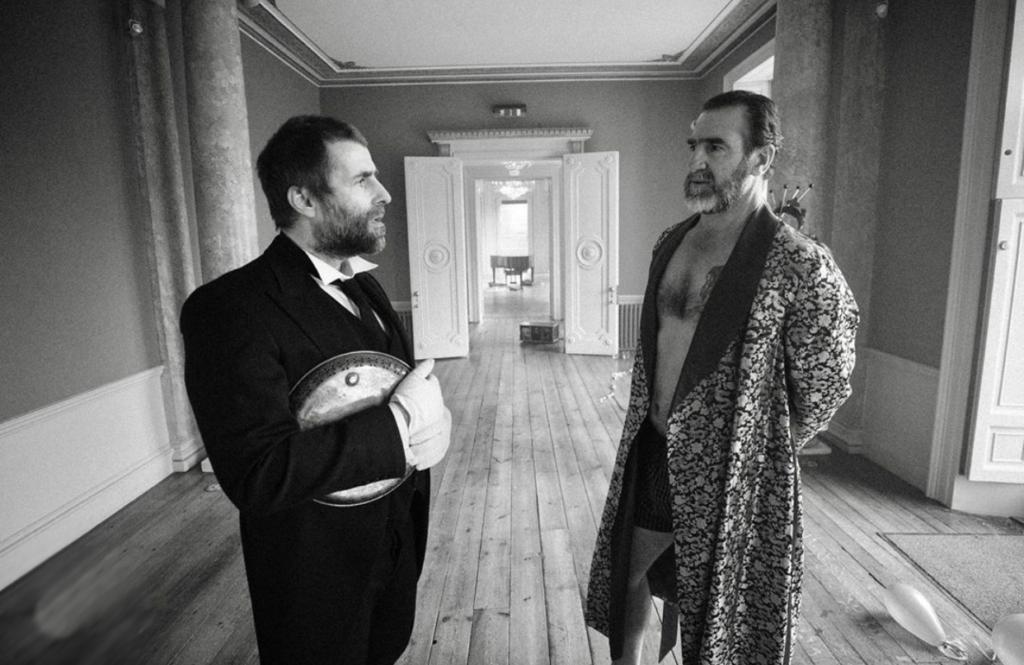 Лиам Галлахер и Эрик Кантона в новом клипе Once