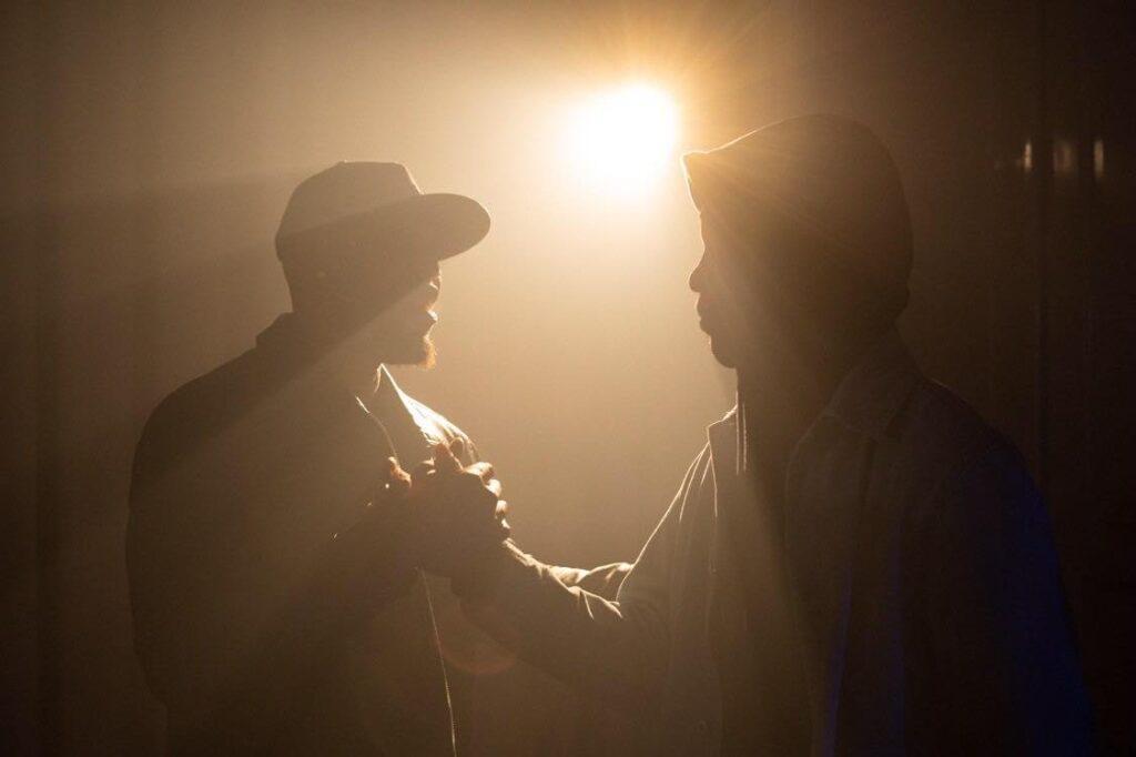 Фото со съемок клипа MOONZOO с участием F.M.F. Sure