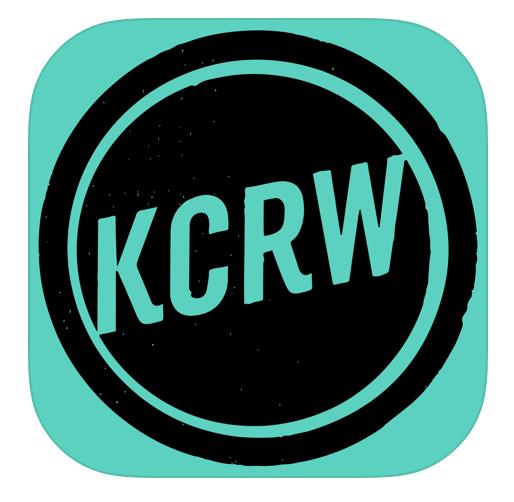Логотип радио KCRW